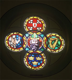 Shrine of Saint Patrick Rose Window